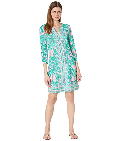 Lilly Pulitzer UPF 50+ Nadine Dress (Pink Blossom Suite Views Engineered Chilly Lilly) Women