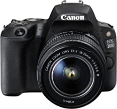 Canon EOS 200D 18-55 III DSLR Camera Lens Kit