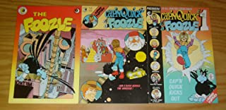 Cap'n Quick & A Foozle #1-3 VF/NM; Eclipse complete series