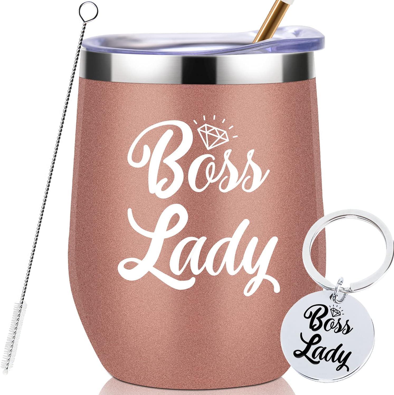 Boss Lady Tumbler-30th 45th 50th Max 83% OFF Y Christmas 75th Birthday Thank cheap