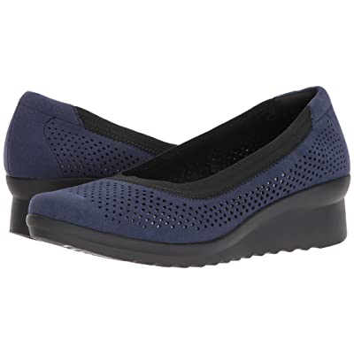 Clarks Caddell Trail (Navy Textile) Women