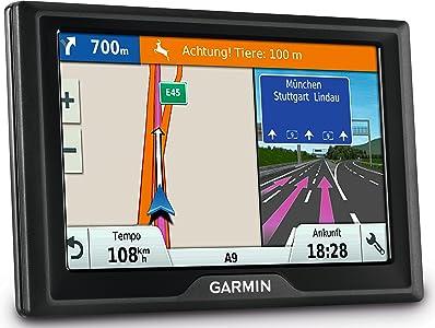 Garmin Drive LMT Navigatore 4 3 quot  con Mappa Italia Europa Centrale  Aggiornamento Vita Infotraffico  Nero
