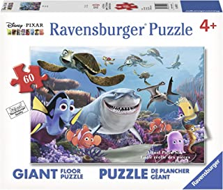 Ravensburger Disney Finding Nemo Smile 60Piece Floor Jigsaw Puzzle For Kids – Everypiece Is Unique, Piece Fit Together Perfectly