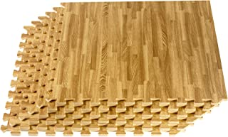 Forest Floor, Premium Farmhouse Flooring, Wood Grain Interlocking Foam Floor Mats, Farmhouse Décor for The Home Vintage