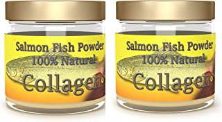 Salcoll Collagen - 100% Natural Bioactive Marine Collagen Powder - Unflavored, Kosher, can Help Bone, Joint, Skin, Hair He...