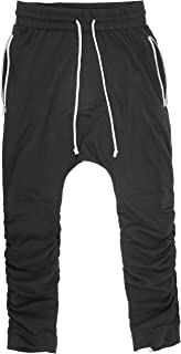 extreme drop crotch joggers