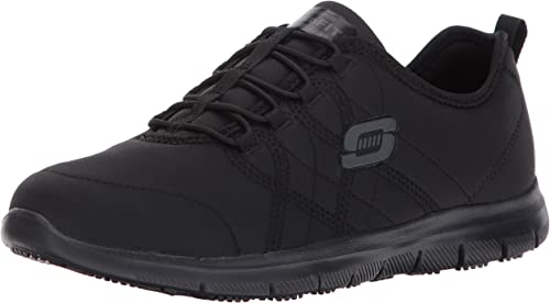 Skechers for Work Woherren Ghenter Srelt Work schuhe, schwarz, 9 M US