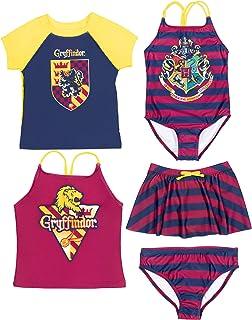 Gryffindor 5 Piece Mix N Match: One-Piece Rash Guard...