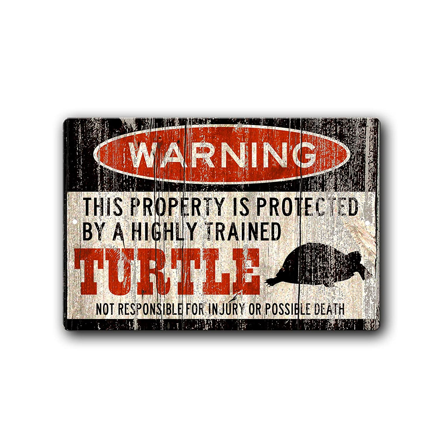 Turtle Warning Sign Gift All items in the store Luxury cage accessories Turtl