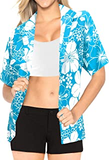 Women Plus Size Outwear Regular Fit Hawaiian Shirts for Women Printed A