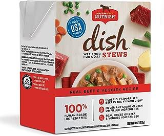 Rachael Ray Nutrish Dish Stews Wet Dog Food, 11 Ounce Tub (6 Pack), Grain Free