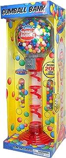 "Sweet N Fun 9076 Metal Spiral Fun Gumball Bank with Gumballs, 36"""