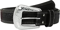Nocona Embossed Oval Concho Belt