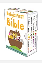 Baby's First Bible Boxed Set: The Story of Moses, The Story of Jesus, Noah's Ark, and Adam and Eve Hardcover