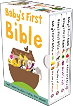 Baby's First Bible Boxed Set: The Story of Moses, The Story of Jesus, Noah's Ark, and Adam and Eve (Bible Stories) PDF