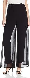 Alex Evenings Women's Chiffon Dress Pants