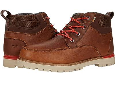 TOMS Hawthorne 2.0 (Peanut Waterproof Leather) Men