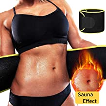 DANLOTE Waist Trainer for Women Men, Waist Cincher ab Belt Weight Loss - Sweat Slimming Neoprene Waist Trimmer Bands