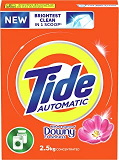 Tide Automatic Laundry Powder Detergent, Essence of Downy Freshness Scent, 2.5 Kg