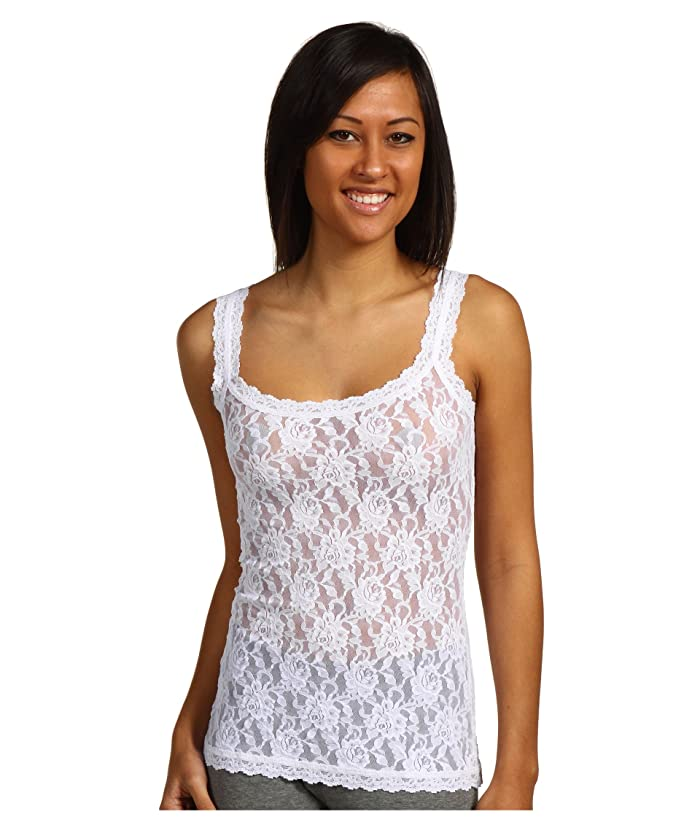 Hanky Panky Signature Lace Unlined Cami (White) Women