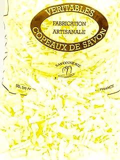 MGI DEVELOPPEMENT Copos de jabón de Marsella, aroma a limón, de fabricación artesanal, 1 kg