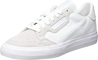 adidas Continental Vulc, Scarpe da Ginnastica Unisex-Adulto, Ftwr White/Ftwr White/Ftwr White, 48 2/3 EU