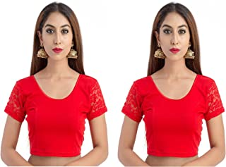Readymade free Size saree blouse for women party wear choli