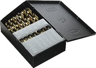 Neiko Pro 10132B Cobalt Drill Bit Set, 29 Piece Huot Index Case