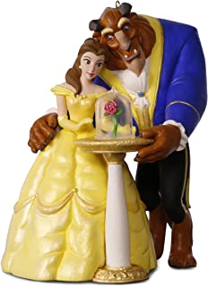 Hallmark Keepsake 2017 Disney Beauty and the Beast Tale as Old as Time Christmas Ornament With Light and Music