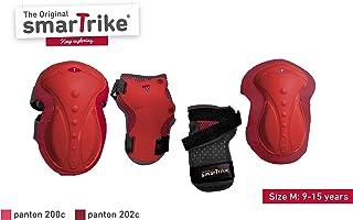 smarTrike 儿童保护套装 M 肘部,膝盖和手腕保护 M,红色,M