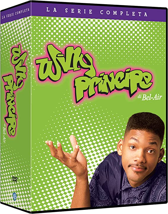 Willy principe di bel air - la serie completa (stagioni 1-6) (23 dvd) - will smith - warner bros B08C3BT4RY