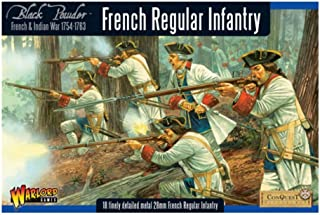 Warlord Games, French Regular Infantry, Black Powder Wargaming Miniatures