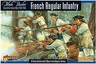 Black Powder Warlord Games, French Regular Infantry, Wargaming Miniatures