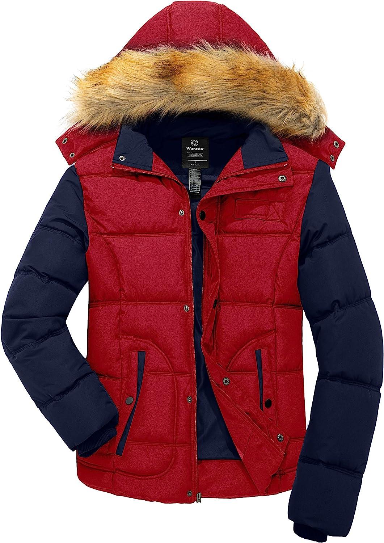Wantdo Men's Winter Puffer Max 75% OFF Jacket Thicken Warm depot Coat Padde