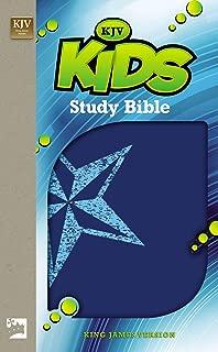 KJV, Kids Study Bible, Leathersoft, Blue