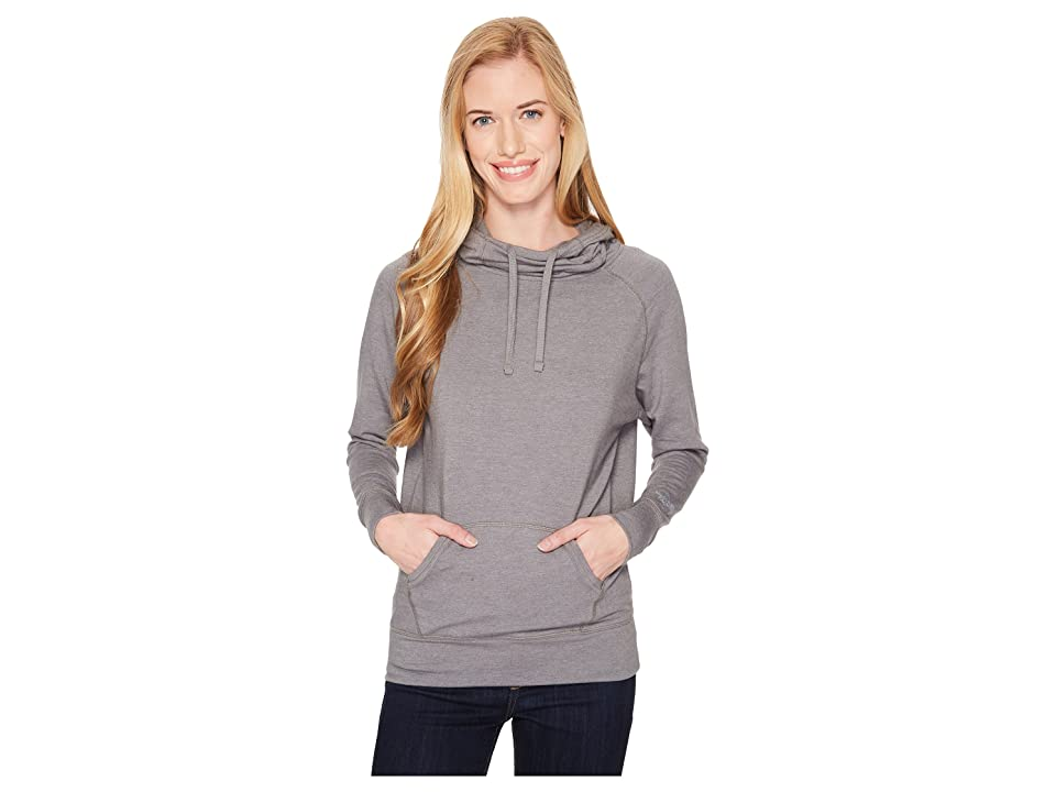 The North Face Long Sleeve TNF Terry Hooded Top (TNF Medium Grey Heather) Women