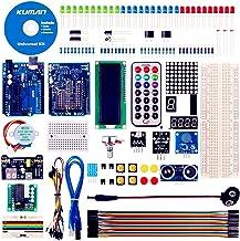 kuman Starter Kit für Arduino mit German Tutorial,Elektronik und Programmierung Lernen,..