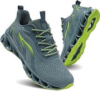 حذاء الركض على الطرق للنساء من تيامو، حذاء رياضي للمشي والتنس والرياضة بحافة مضادة للانزلاق