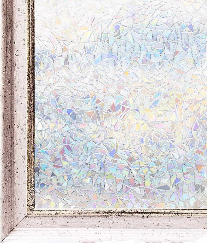 CottonFarbes Fensterfolie Sichtschutzfolie Glasdekorfolie selbstklebend blickdicht ohne Klebstoffe 3ftx6.5ft(90x 3ftx6.5ft(90x 3ftx6.5ft(90x 200cm) B00KM4UY32 0b3afb