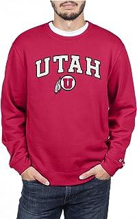 Elite Fan Shop NCAA Mens Crewneck Sweatshirt Applique Team Color Arch