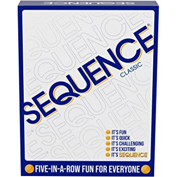 "Jax 8002 Sequence Game, White, 10.3"" x 8.1"" x 2.31"""