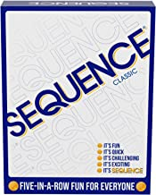 SEQUENCE- Original SEQUENCE Game with Folding Board, Cards and Chips by Jax ( Packaging may Vary )