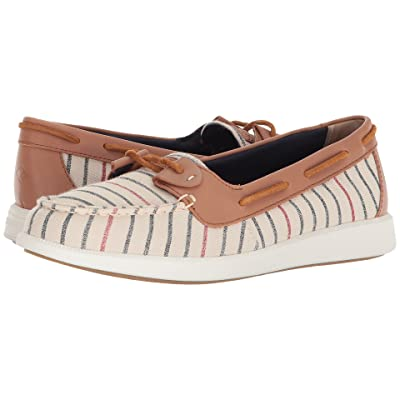 Sperry Oasis Loft Canvas (Natural Stripe) Women