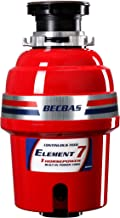 BECBAS ELEMENT 7 Garbage Disposal,1HP 2700RPM Household Food Waste Disposer, With Power Cord
