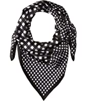 Kate Spade New York - Gingham Silk Square