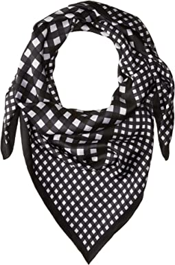 Kate Spade New York Gingham Silk Square