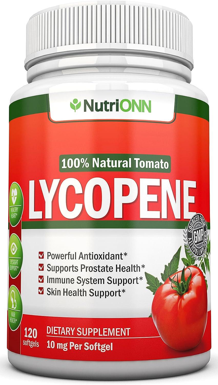 prostate lycopene tomato)