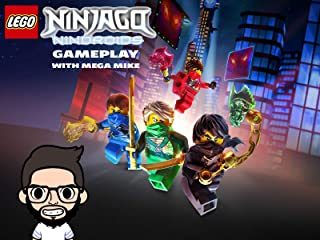 Lego Ninjago Nindroids Gameplay With Mega Mike
