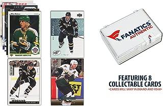 Mike Modano Dallas Stars Unsigned 8 Card Lot - Hockey Player Sets