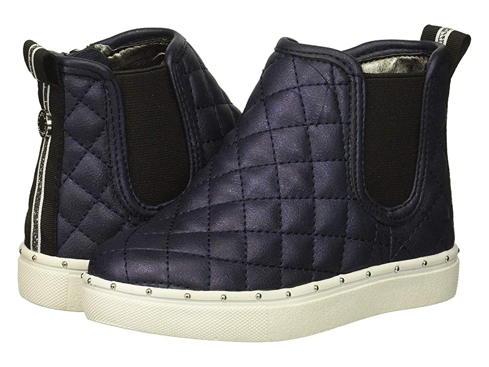 Steve Madden Kids Tquest (Toddler/Little Kid) (Navy) Girls Shoes